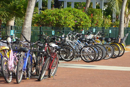 Bicycles on Key West